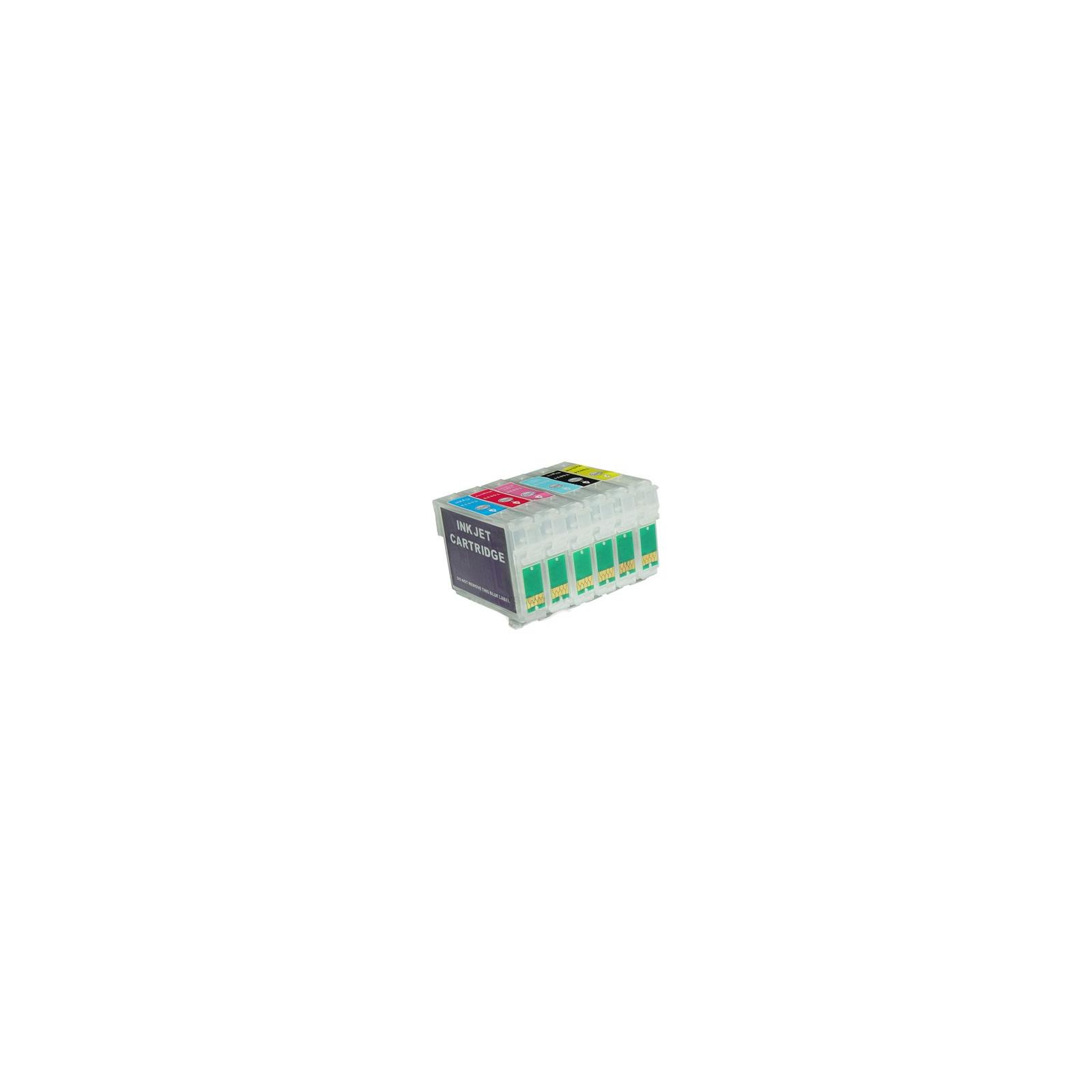 Комплект перезаправляемых картриджей IST Epson St C79/CX3900/CX4900/CX5900(ОЕМ) (Re-731-734new (C79/TX200))