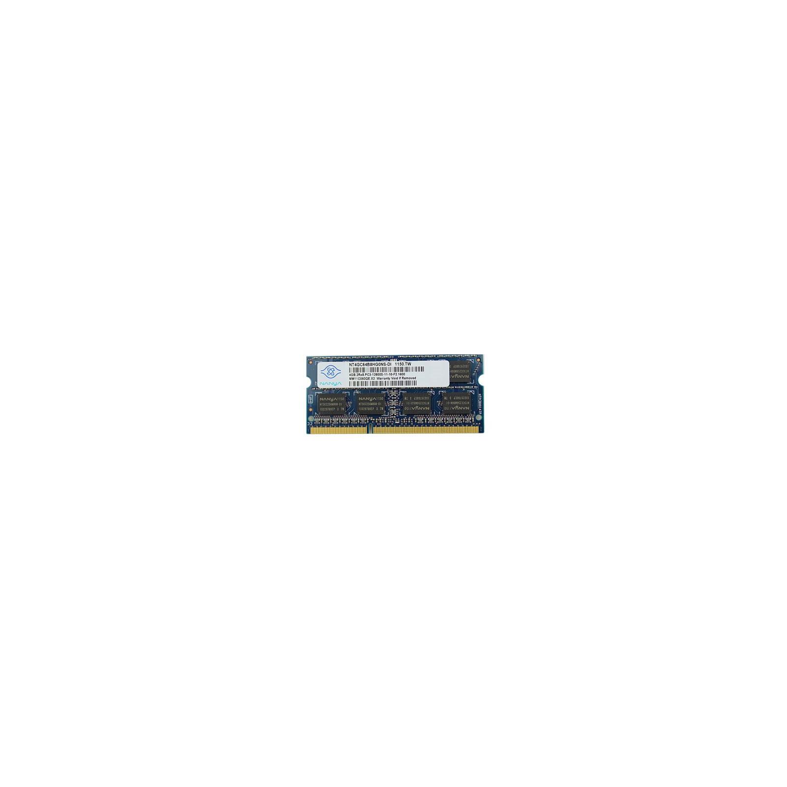 Модуль памяти для ноутбука SoDIMM DDR3 4GB 1600 MHz Nanya (NT4GC64B8HG0NS-DI)