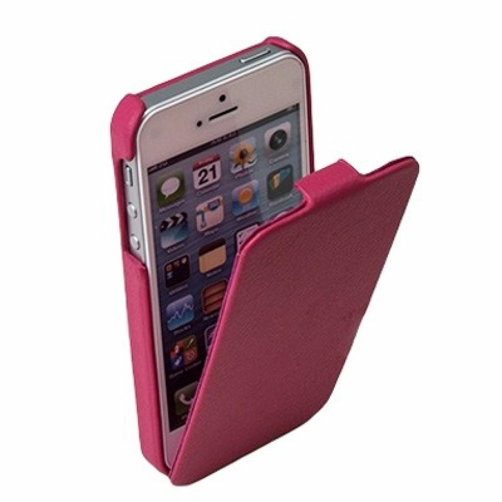 Чехол для моб. телефона Drobak для Apple Iphone 5 /Business-flip Pink (210231) изображение 2