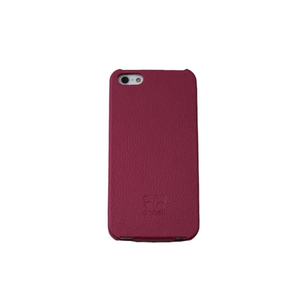 Чехол для моб. телефона Drobak для Apple Iphone 5 /Business-flip Pink (210231) изображение 4