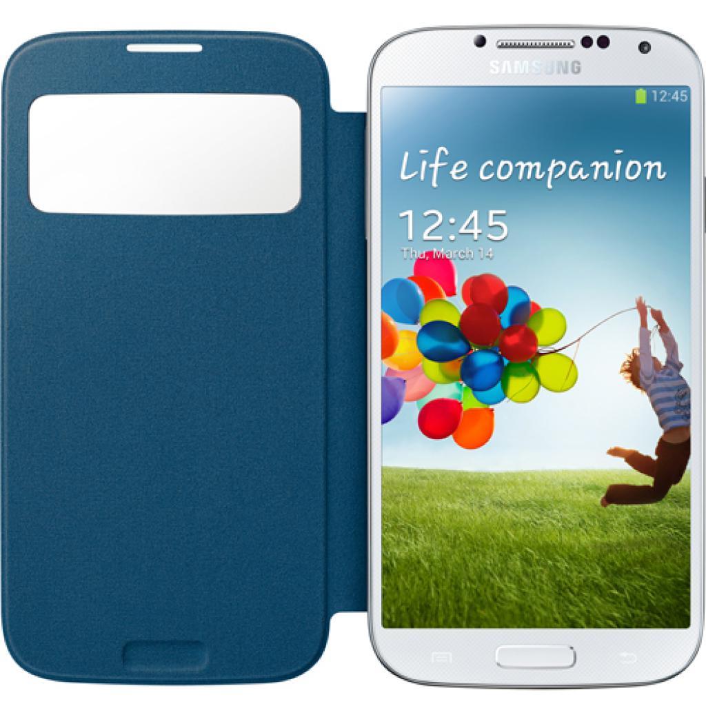Чехол для моб. телефона Samsung I9500 Galaxy S4/Rigel Blue/S View Cover (EF-CI950BLEGWW) изображение 2