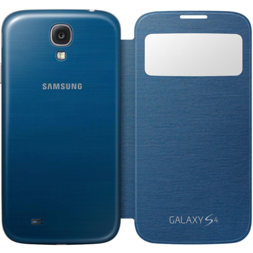 Чехол для моб. телефона Samsung I9500 Galaxy S4/Rigel Blue/S View Cover (EF-CI950BLEGWW) изображение 4