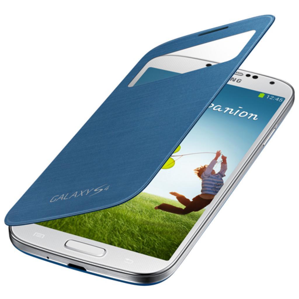 Чехол для моб. телефона Samsung I9500 Galaxy S4/Rigel Blue/S View Cover (EF-CI950BLEGWW) изображение 5