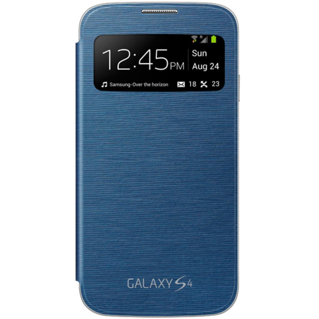 Чехол для моб. телефона Samsung I9500 Galaxy S4/Rigel Blue/S View Cover (EF-CI950BLEGWW)