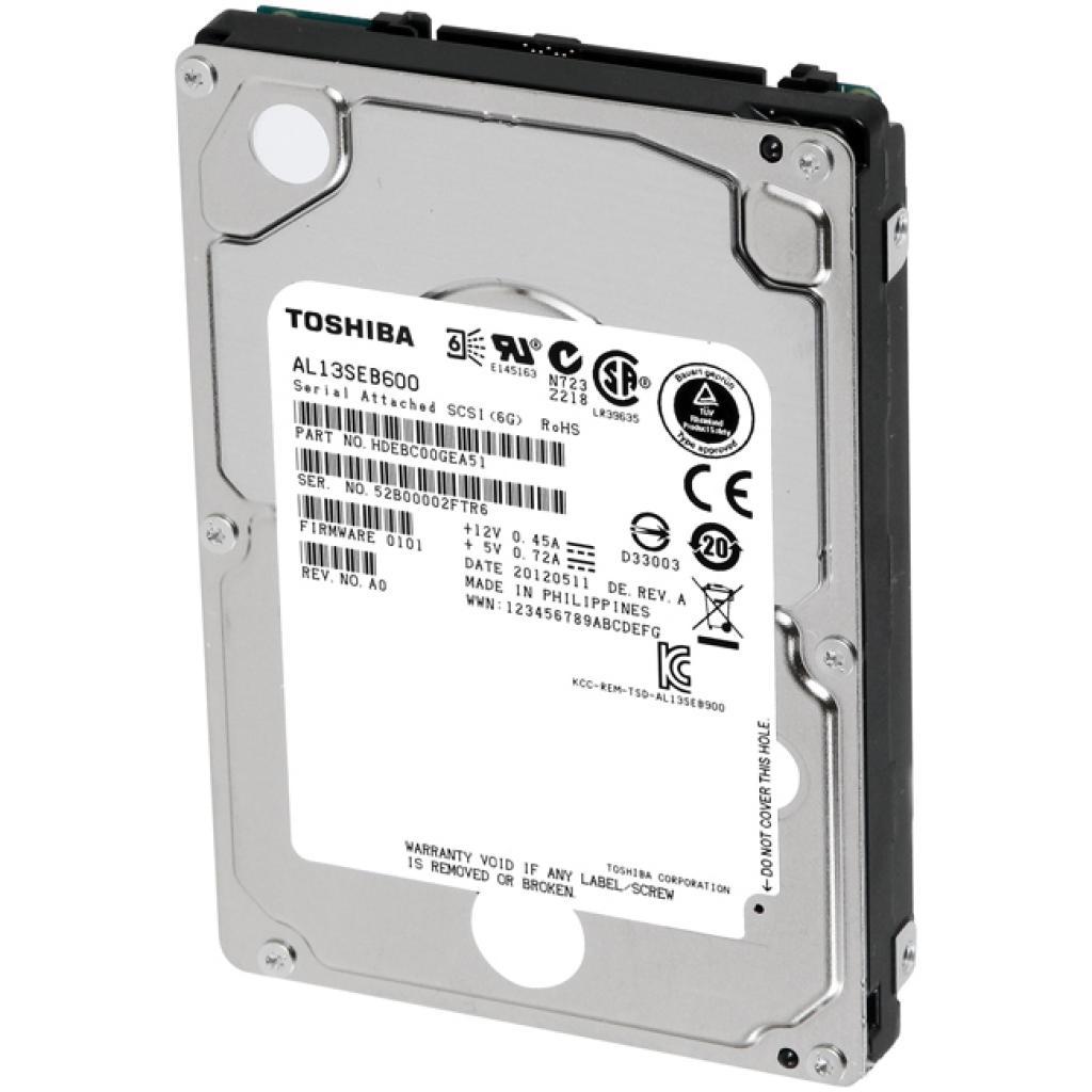 Жесткий диск для сервера 1TB TOSHIBA (AL13SEB600) изображение 2