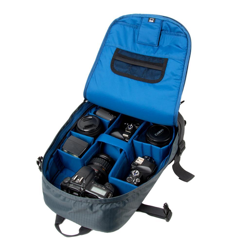 "Рюкзак для фототехники Crumpler Light Delight Full Photo +15""NB Backpack (steel grey) (LDFPBP-010) изображение 2"