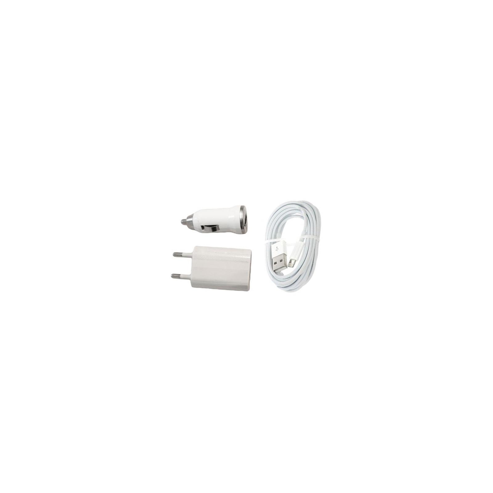 Зарядное устройство EasyLink (3 в 1) +кабель Lightning (EL-199 W)