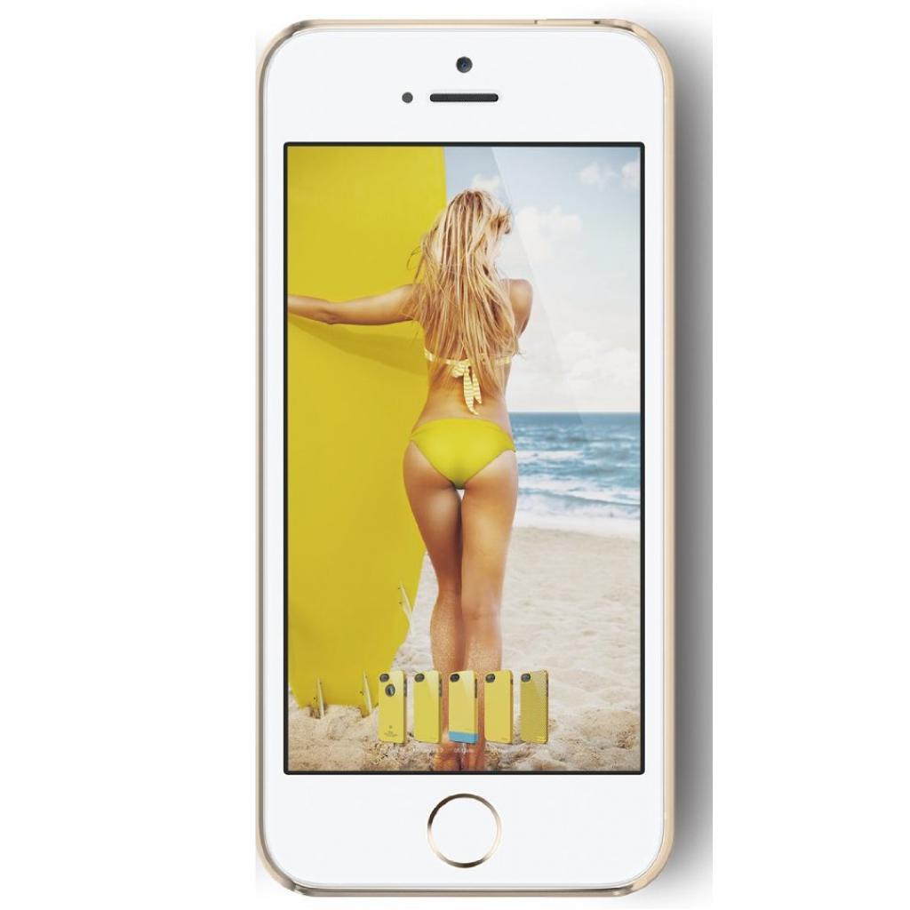 Чехол для моб. телефона ELAGO для iPhone 5/5S /Outfit MATRIX Aluminum/Gold (ELS5OFMX-GDGD-RT) изображение 2