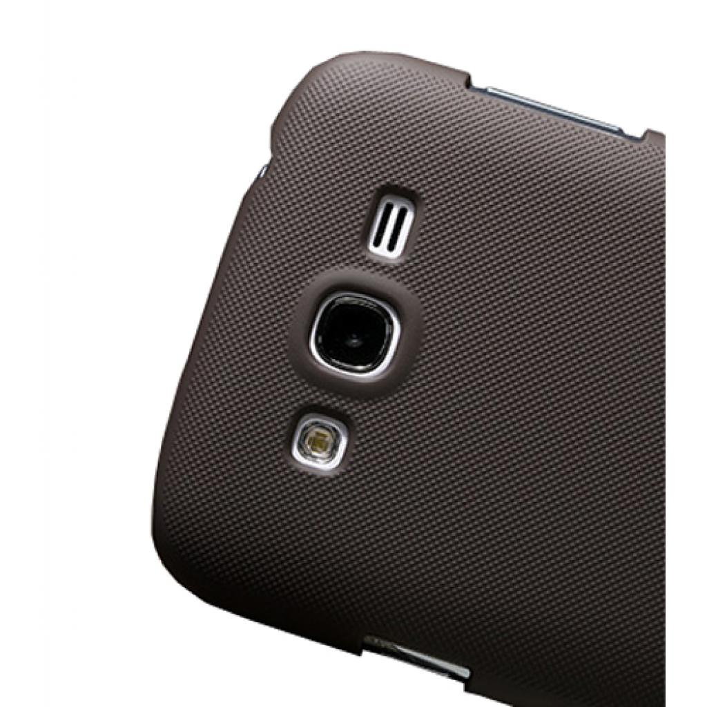 Чехол для моб. телефона NILLKIN для Samsung I9082 /Super Frosted Shield/Brown (6065865) изображение 4