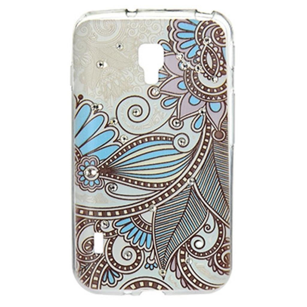 Чехол для моб. телефона для LG Optimus L7 Dual P715 (White) Cristall PU Drobak (211590)