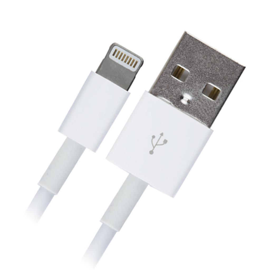 Дата кабель GEMIX Apple Lighting to USB iPhone5 1.0m (GC 1923)