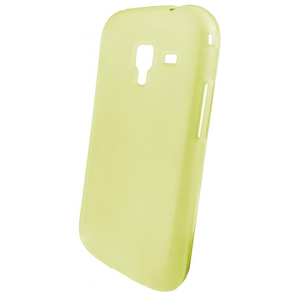 Чехол для моб. телефона GLOBAL для Samsung i8160 Galaxy Ace II (желтый) (1283126458408)
