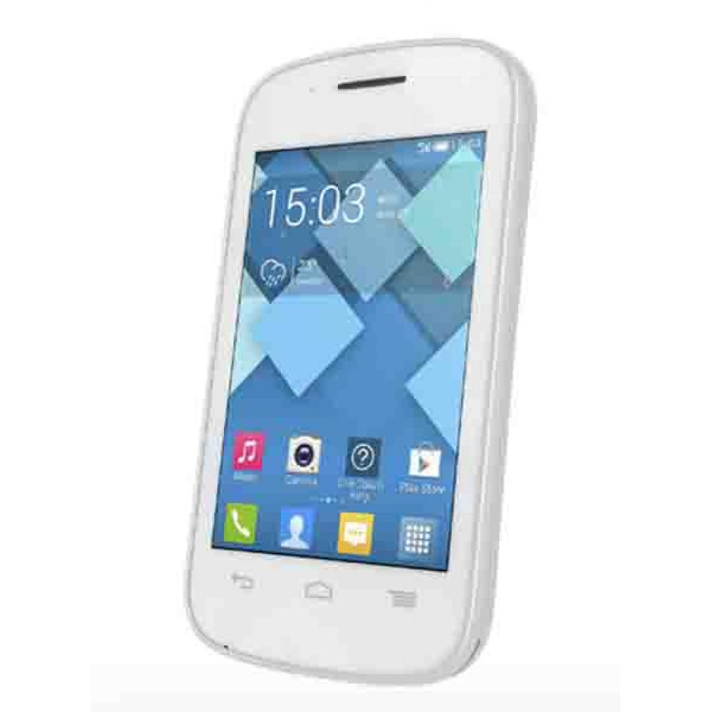 Мобильный телефон ALCATEL ONETOUCH 4015D (Pop C1) Full White (4894461095141) изображение 4