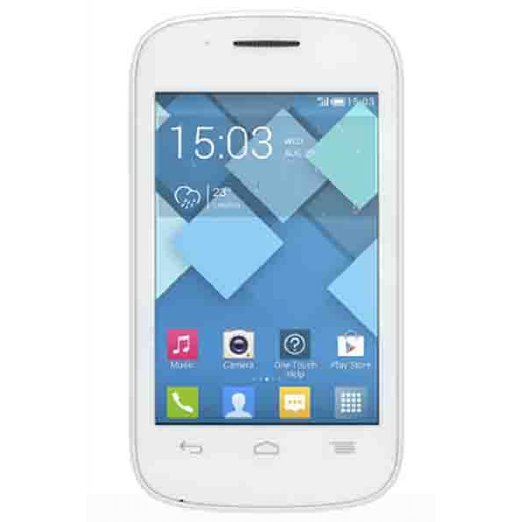 Мобильный телефон ALCATEL ONETOUCH 4015D (Pop C1) Full White (4894461095141)