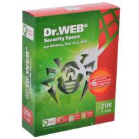 Программная продукция Dr. Web Security Space 10, 2 ПК 1 год (BHW-B-12M-2-A3)
