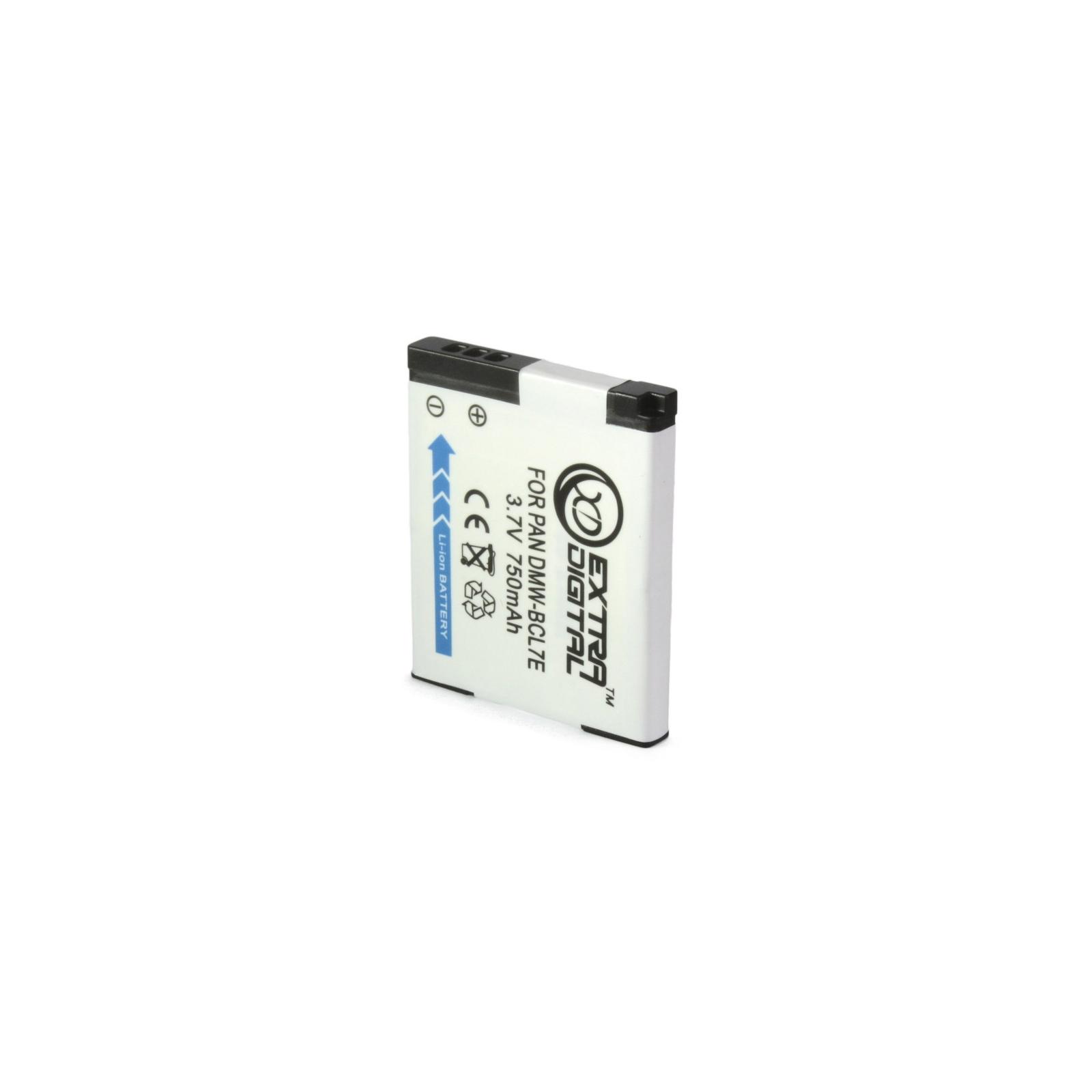 Аккумулятор к фото/видео EXTRADIGITAL Panasonic DMW-BCL7E (BDP1290) изображение 2