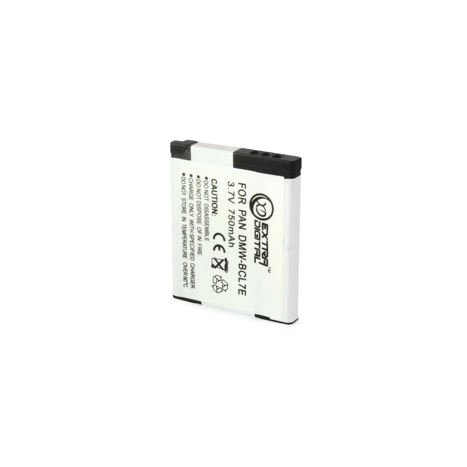 Аккумулятор к фото/видео EXTRADIGITAL Panasonic DMW-BCL7E (BDP1290) изображение 3