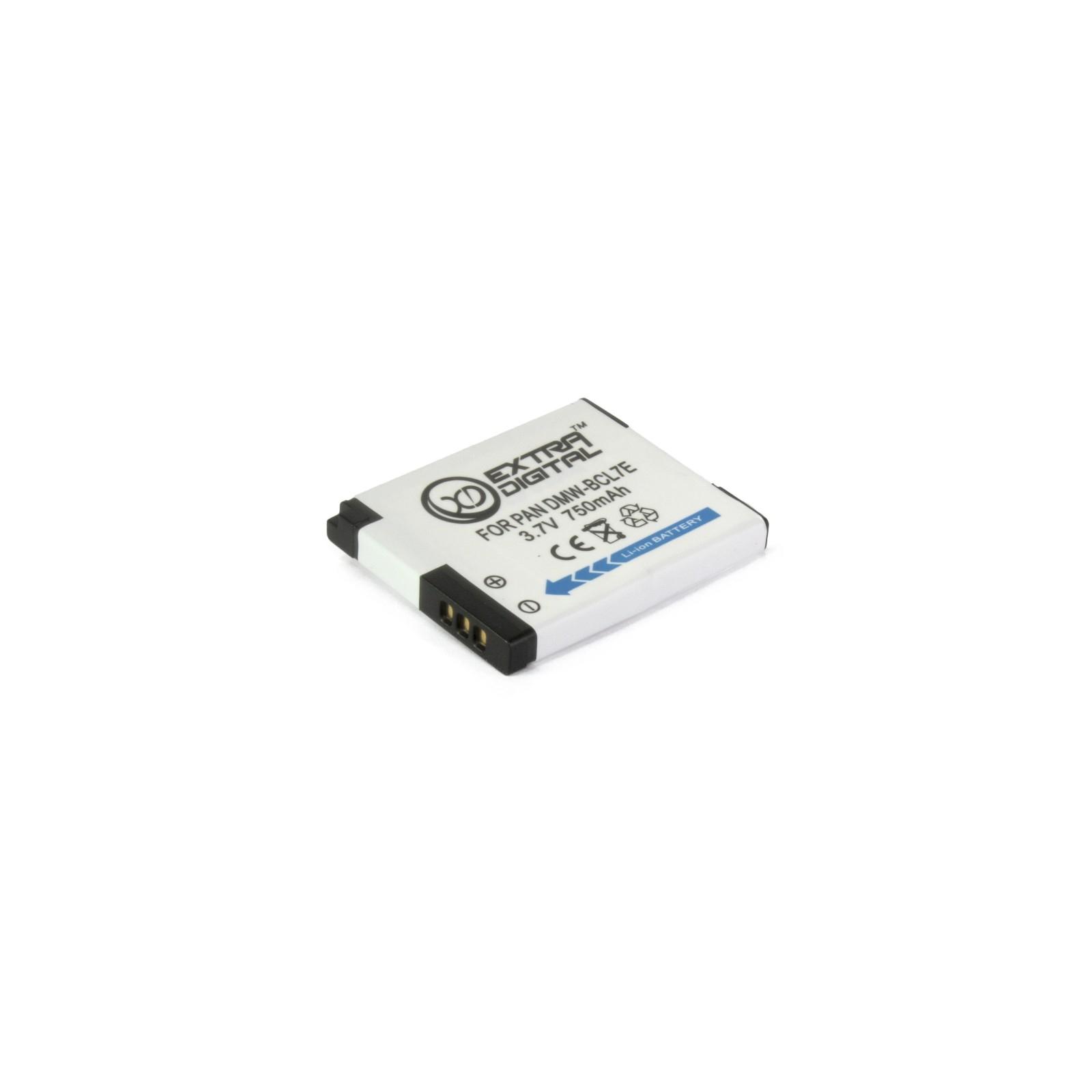 Аккумулятор к фото/видео EXTRADIGITAL Panasonic DMW-BCL7E (BDP1290) изображение 4