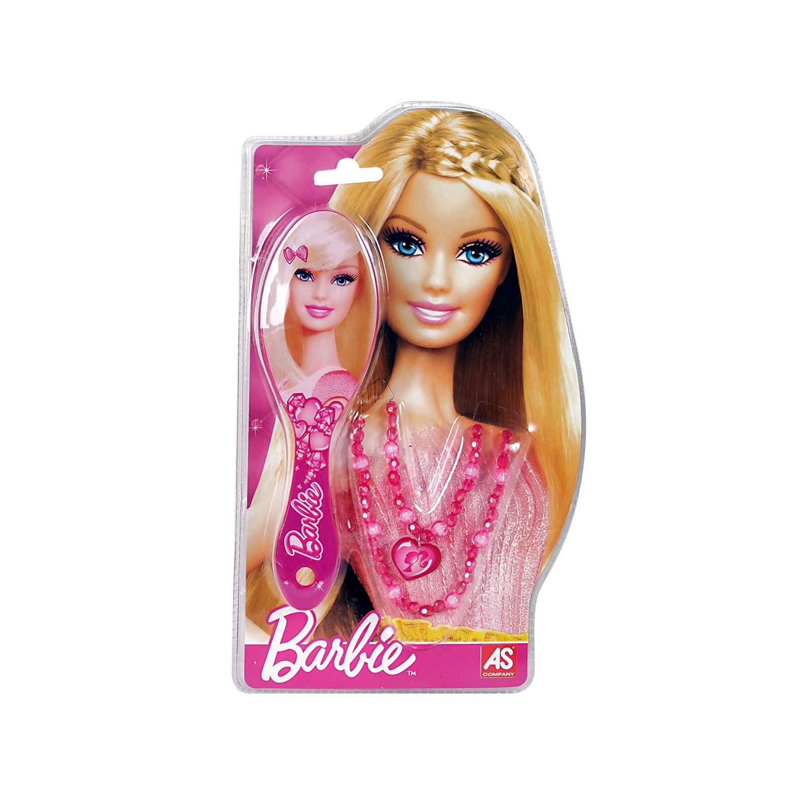 Аксессуар к кукле BARBIE Расческа и бусы (1027-25520-1)