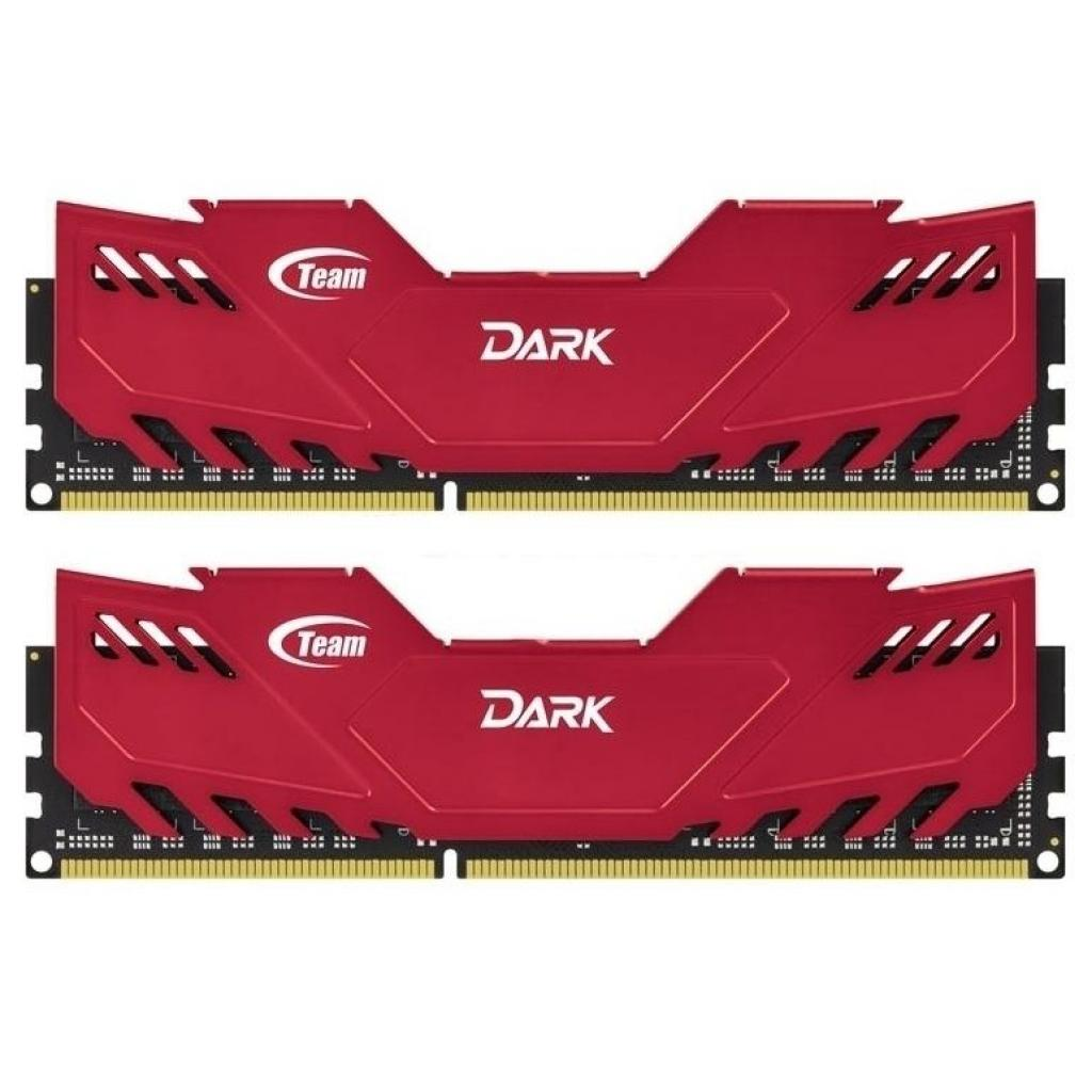 Модуль памяти для компьютера DDR3 16GB (2x8GB) 1600 MHz Dark Series Red Team (TDRED316G1600HC9DC01)