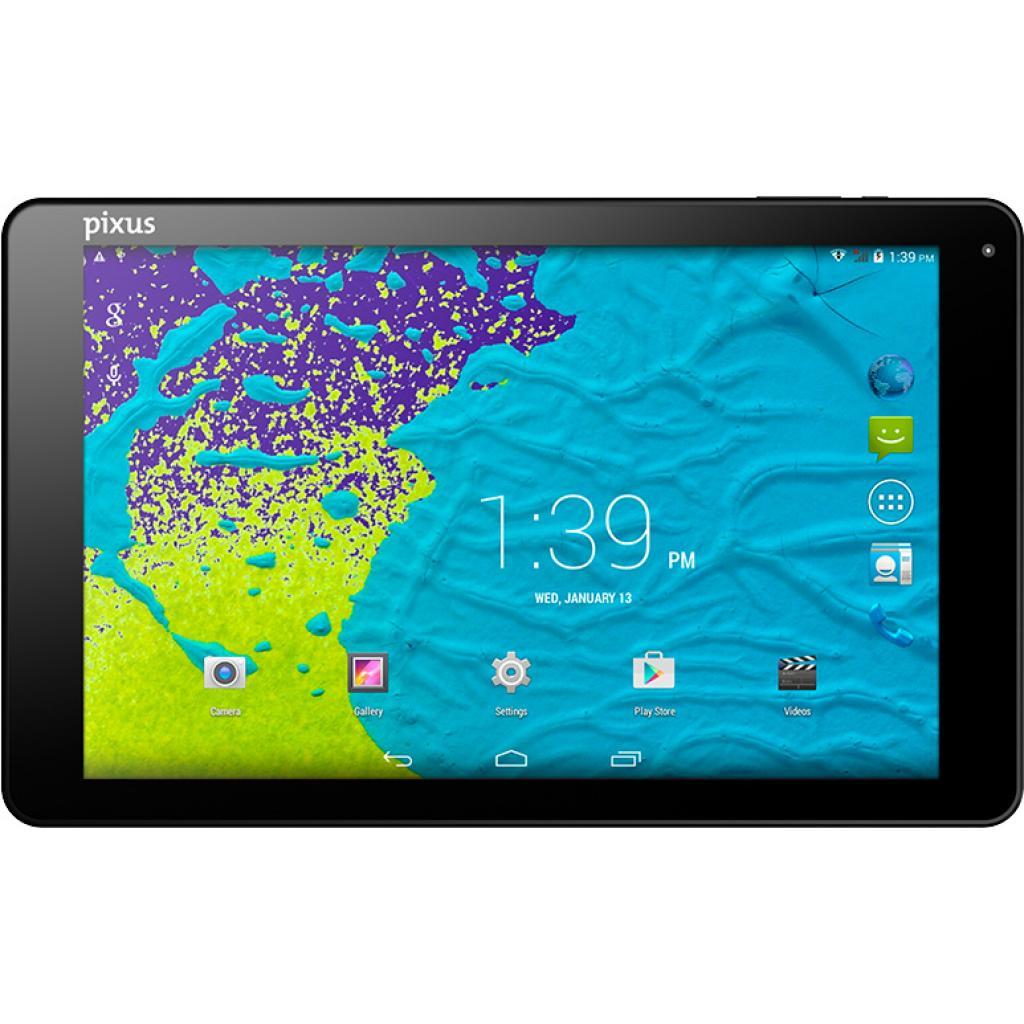 Планшет Pixus Touch 10.1 3G v2.0 GPS, metal, black (Touch 10.1 3G v2.0)