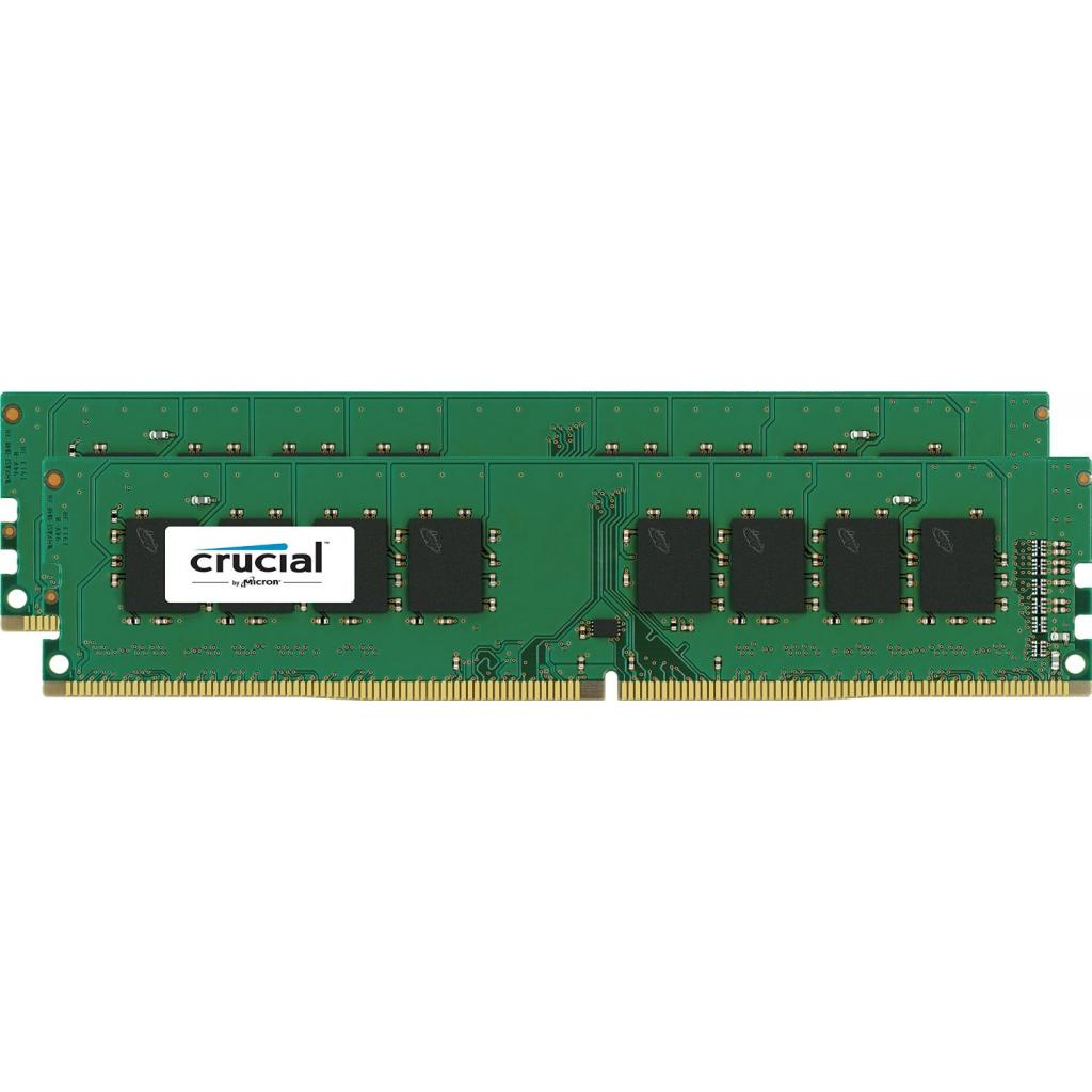 Модуль памяти для компьютера DDR4 16GB (2x8GB) 2400 MHz Micron (CT2K8G4DFS824A)