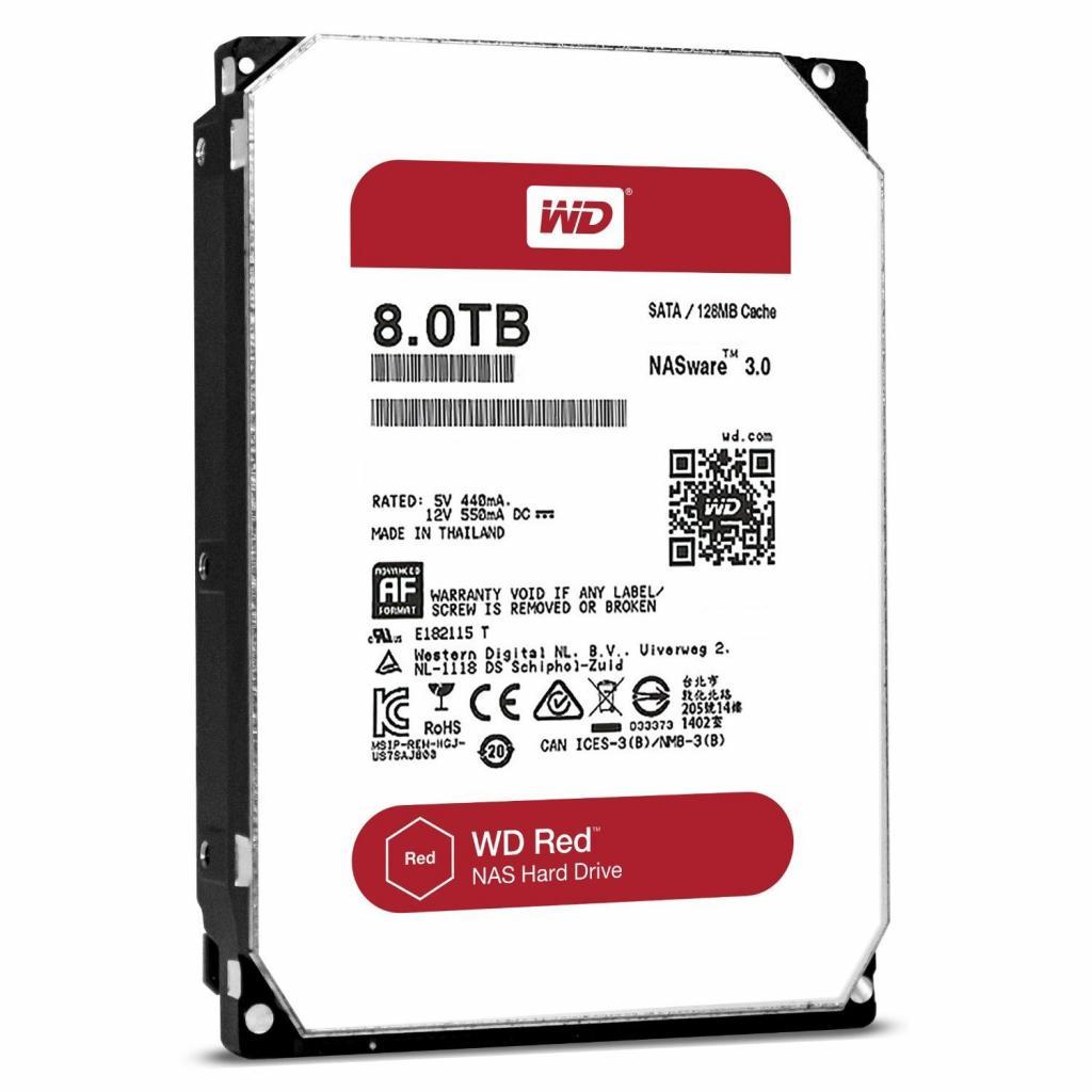 """Жесткий диск 3.5"""" 8TB Western Digital (WD80EFZX)"""
