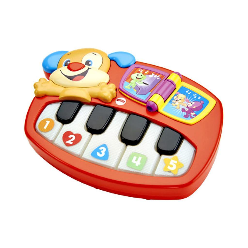 Развивающая игрушка Fisher-Price Пианино Умного щенка (рус.яз) (DLK15) изображение 2