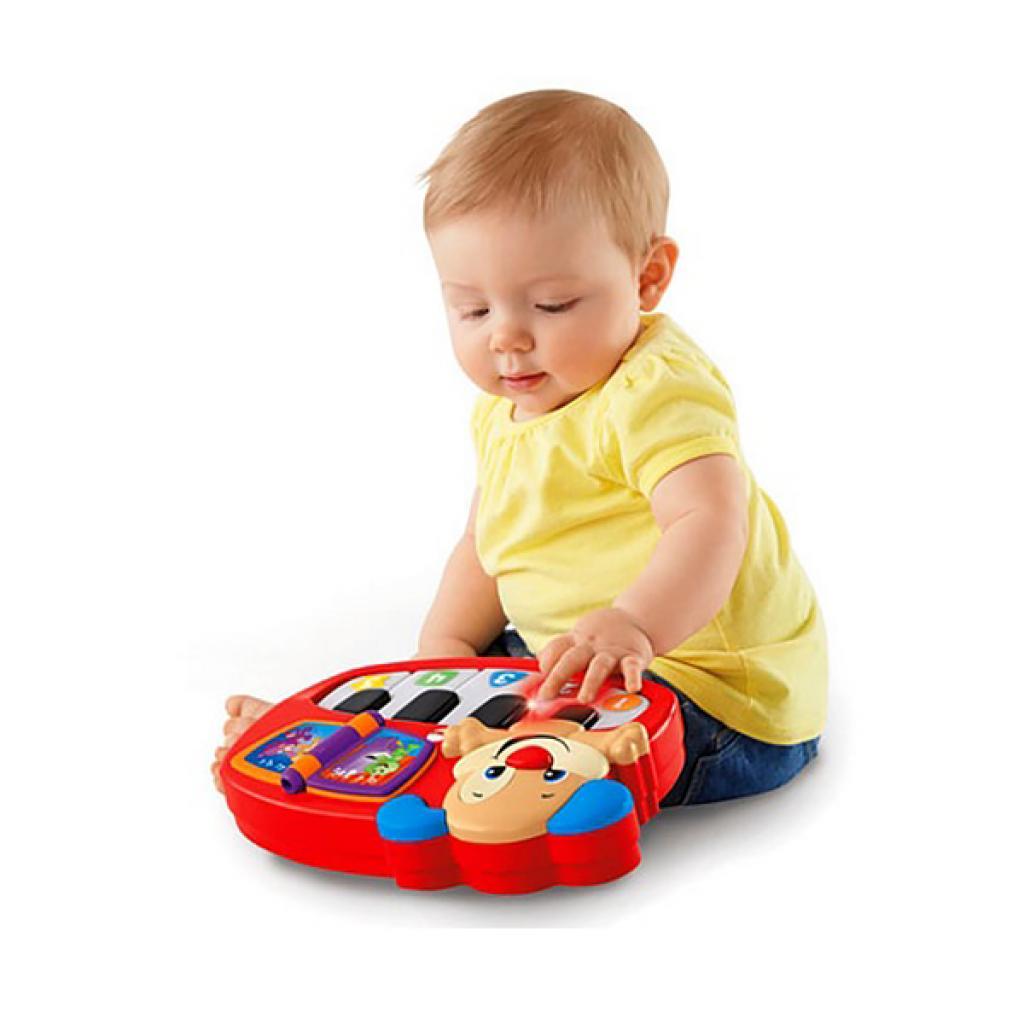 Развивающая игрушка Fisher-Price Пианино Умного щенка (рус.яз) (DLK15) изображение 3