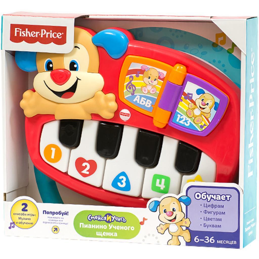Развивающая игрушка Fisher-Price Пианино Умного щенка (рус.яз) (DLK15)