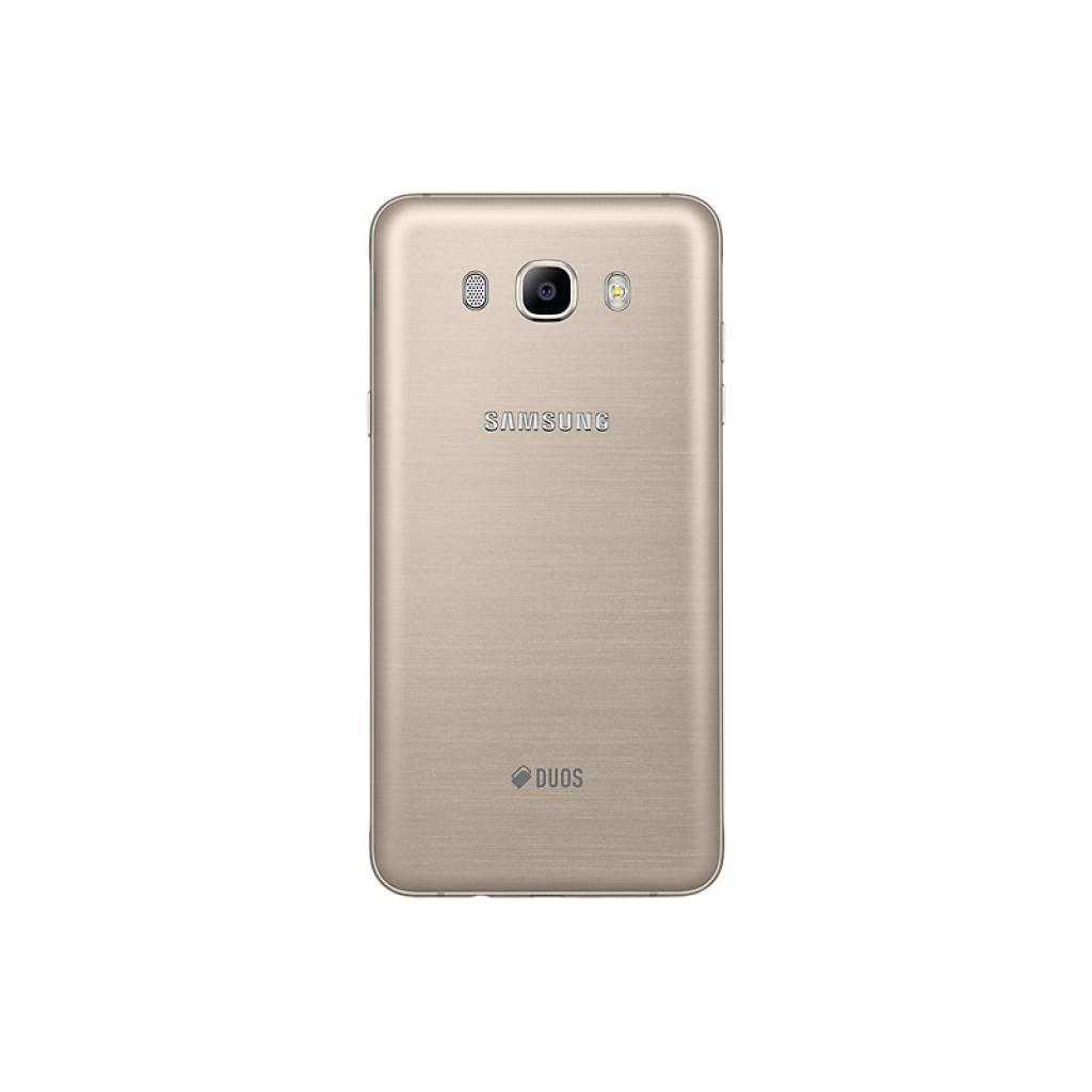 Мобильный телефон Samsung SM-J710F (Galaxy J7 2016 Duos) Gold (SM-J710FZDUSEK) изображение 2