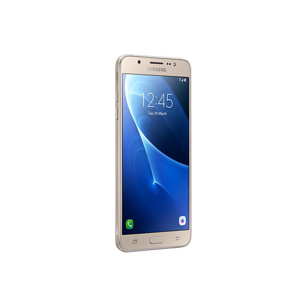 Мобильный телефон Samsung SM-J710F (Galaxy J7 2016 Duos) Gold (SM-J710FZDUSEK) изображение 3