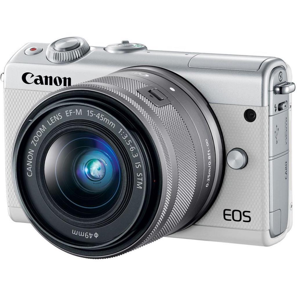 Цифровой фотоаппарат Canon EOS M100 + 15-45 IS STM Black (2209C048) изображение 2