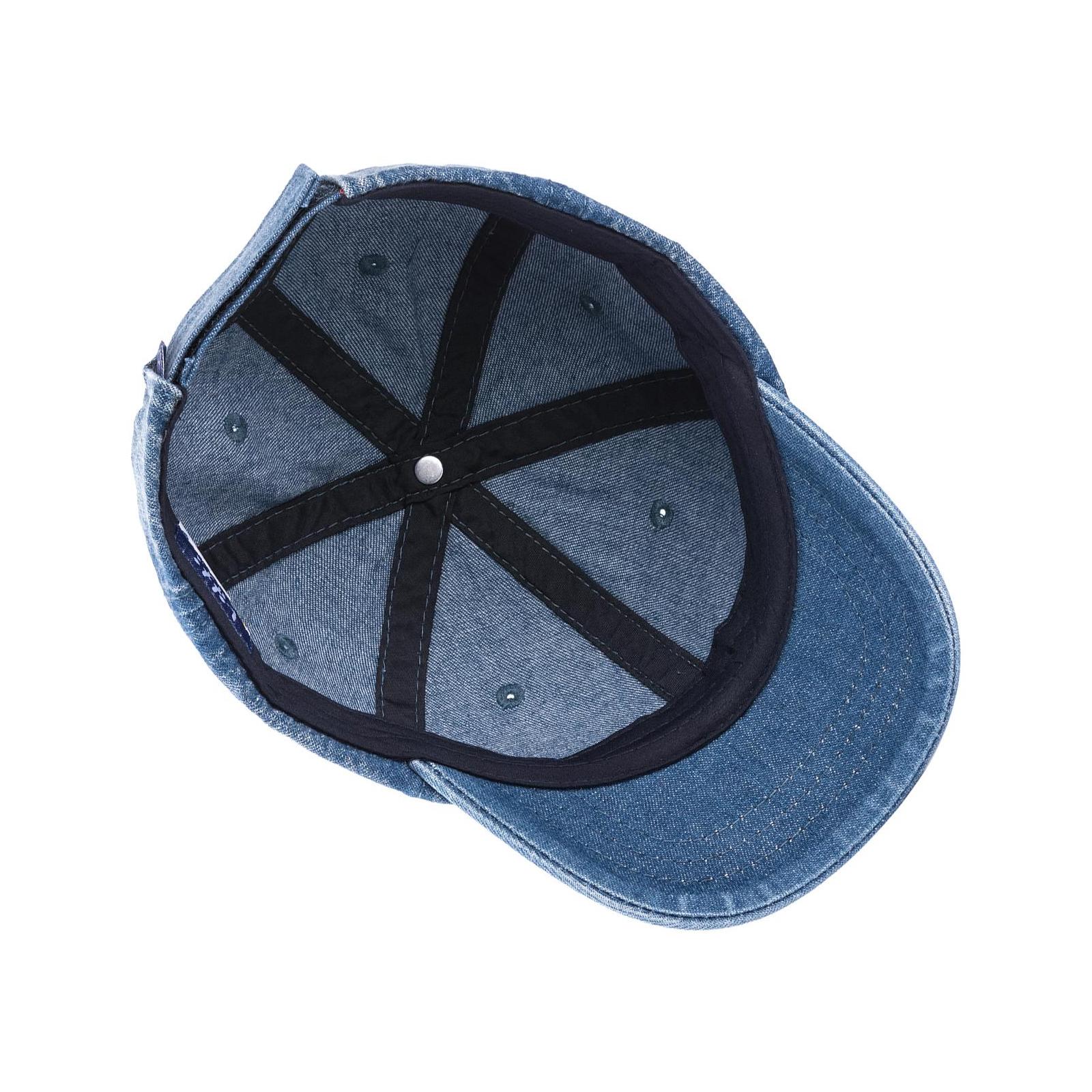 Кепка Kitti джинсовая (Y8210-18-50B-blue) изображение 3
