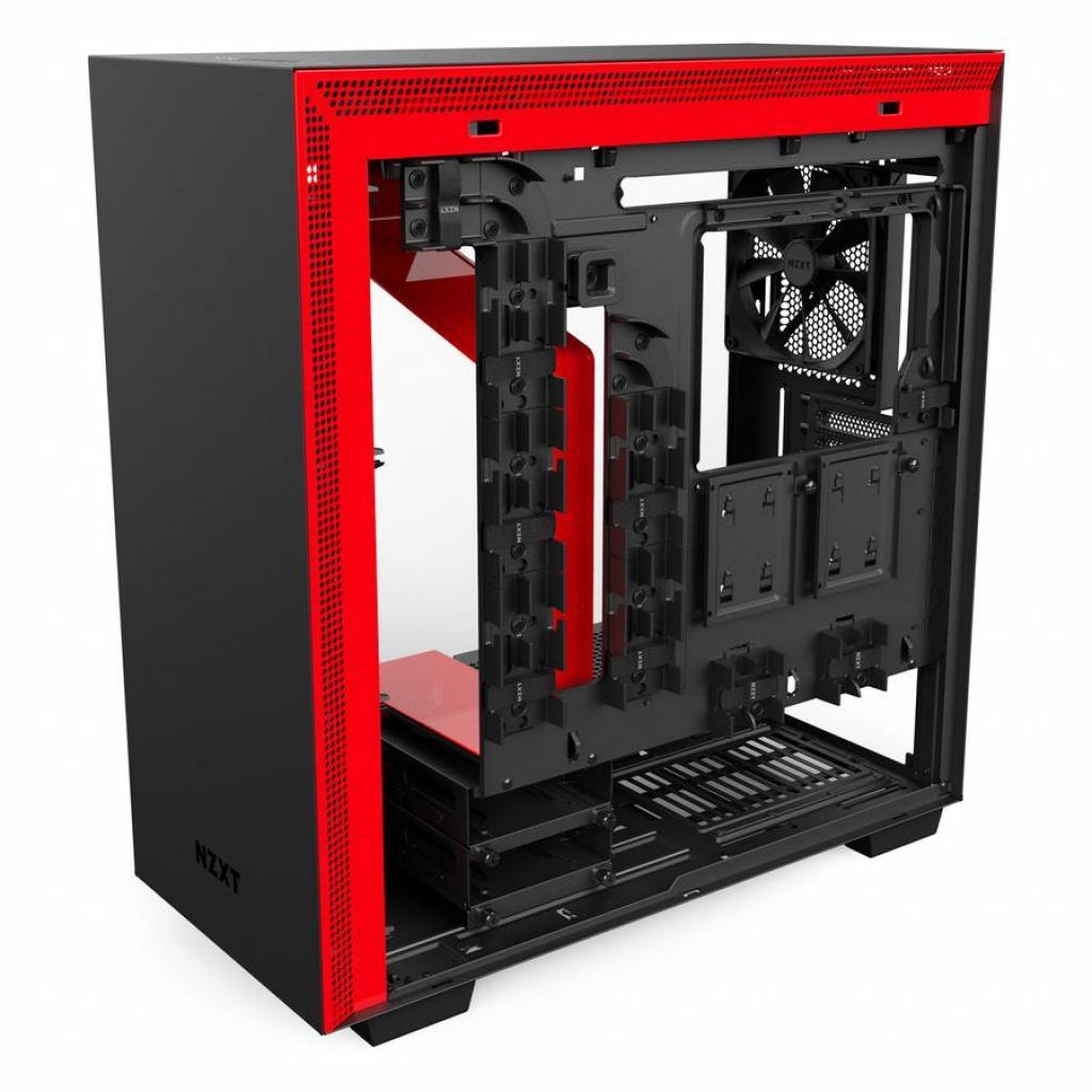 Корпус NZXT H700 Black Red (CA-H700B-BR)