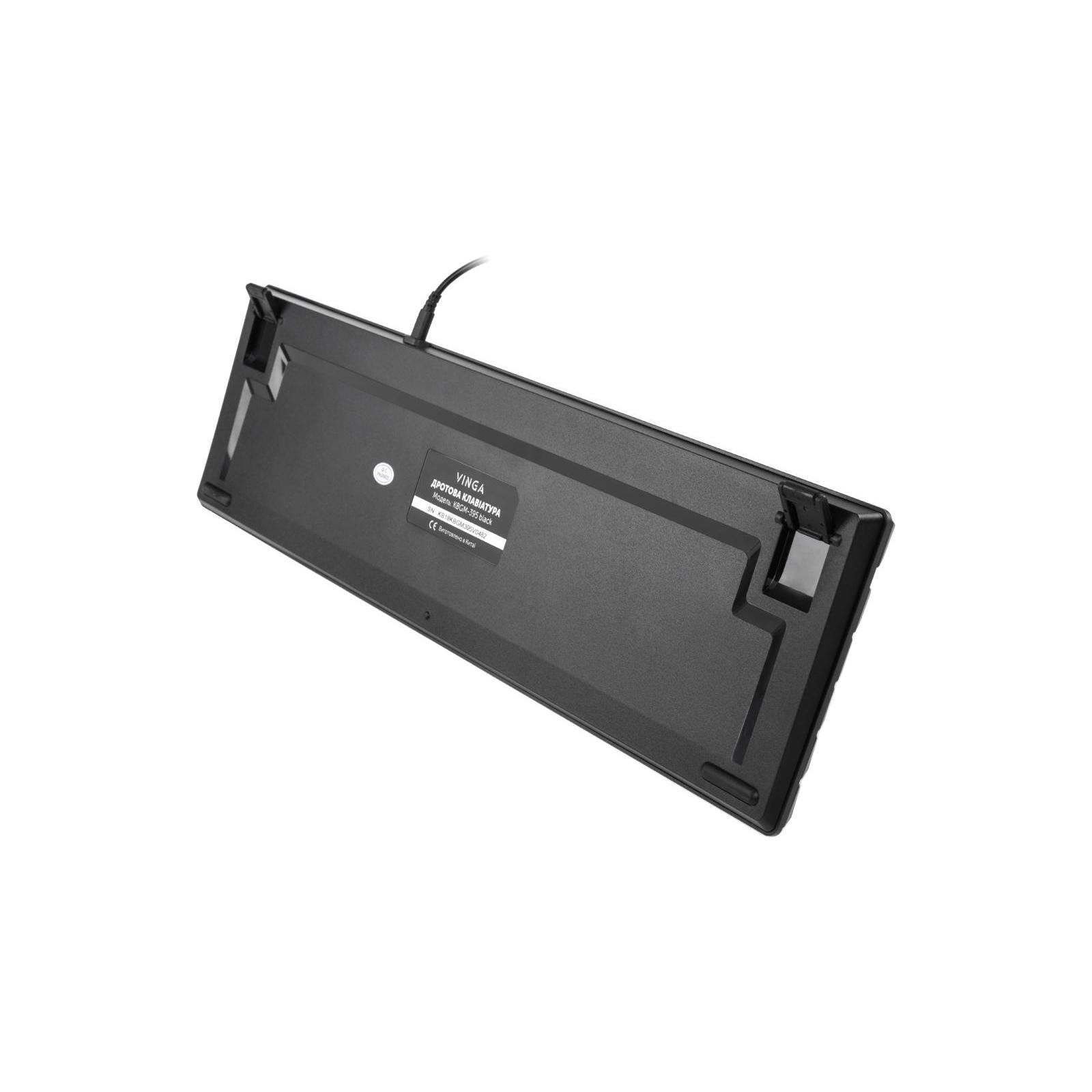 Клавіатура Vinga KBGM-395 black зображення 7
