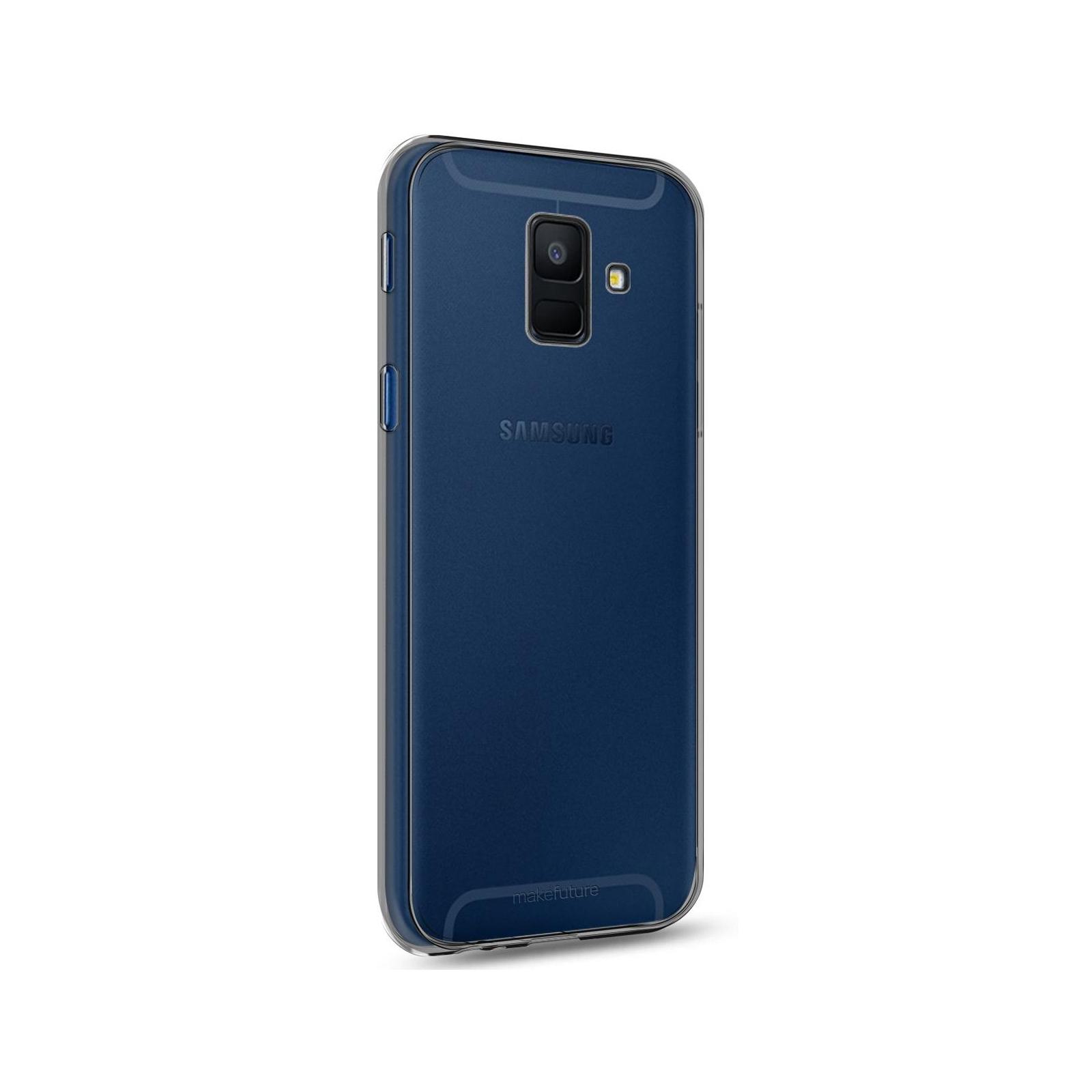 Чехол для моб. телефона MakeFuture Air Case (Clear TPU) Samsung A6 2018 Black (MCA-SA618BK) изображение 2