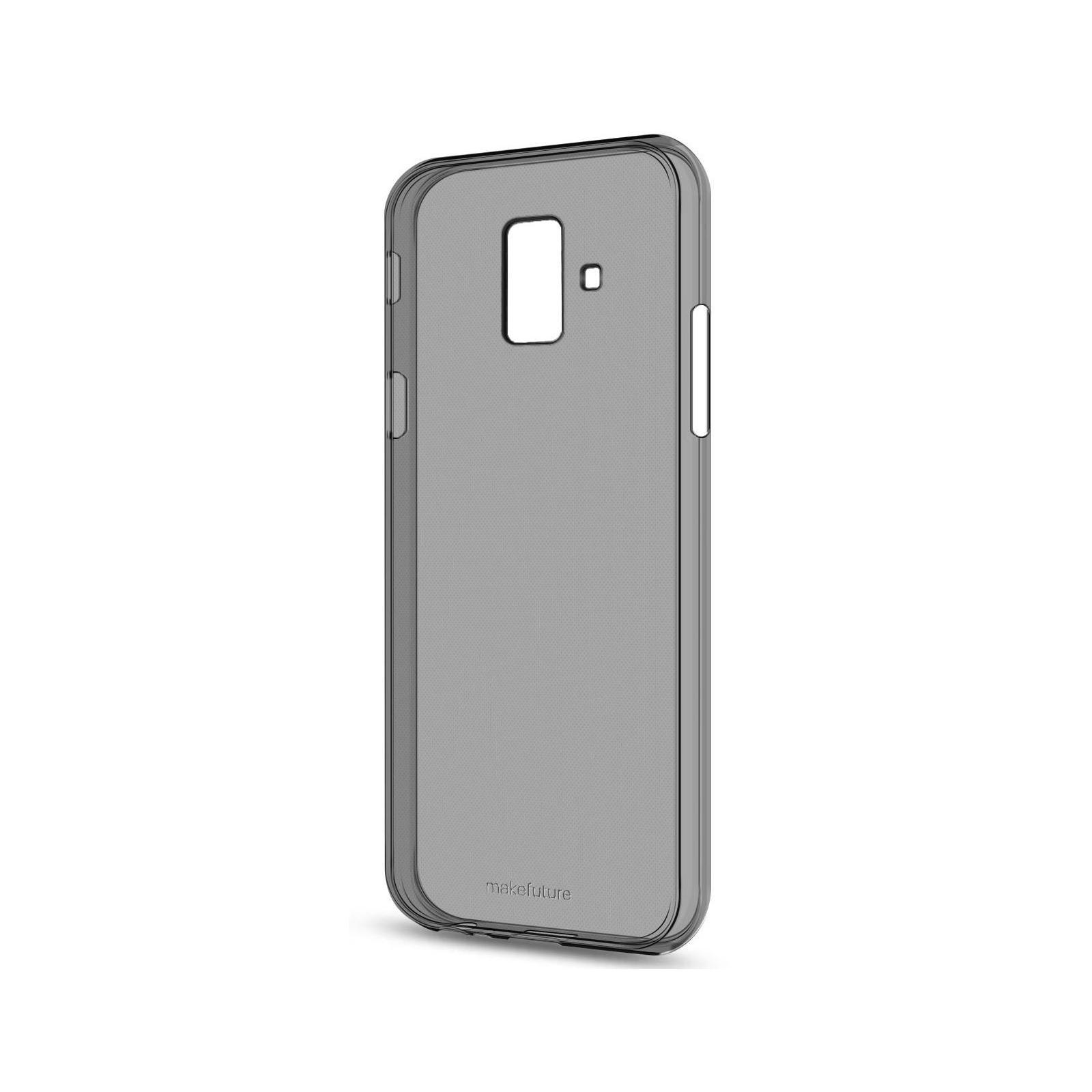 Чехол для моб. телефона MakeFuture Air Case (Clear TPU) Samsung A6 2018 Black (MCA-SA618BK)