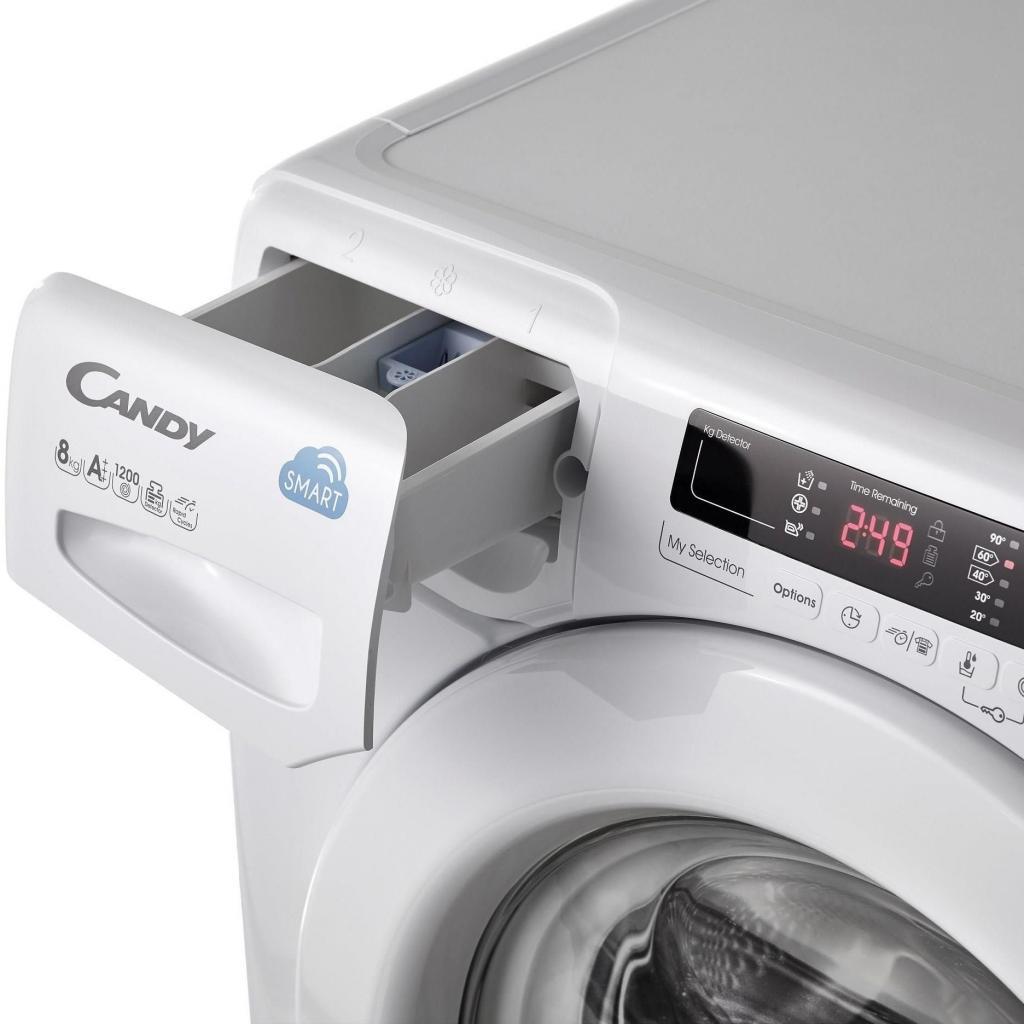 Стиральная машина CANDY CS4 1072D3/1-S (CS41072D3/1-S) изображение 4