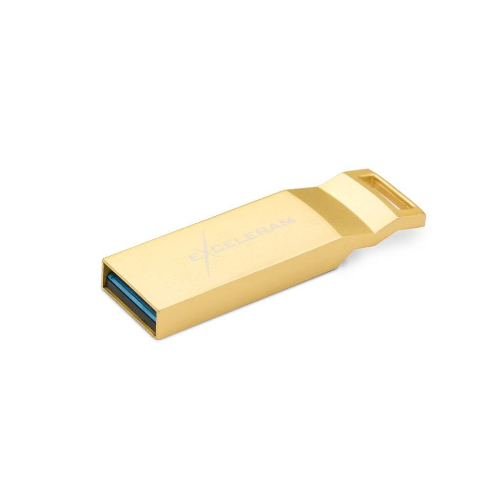 USB флеш накопитель eXceleram 128GB U2 Series	Gold USB 3.1 Gen 1 (EXP2U3U2G128) изображение 2