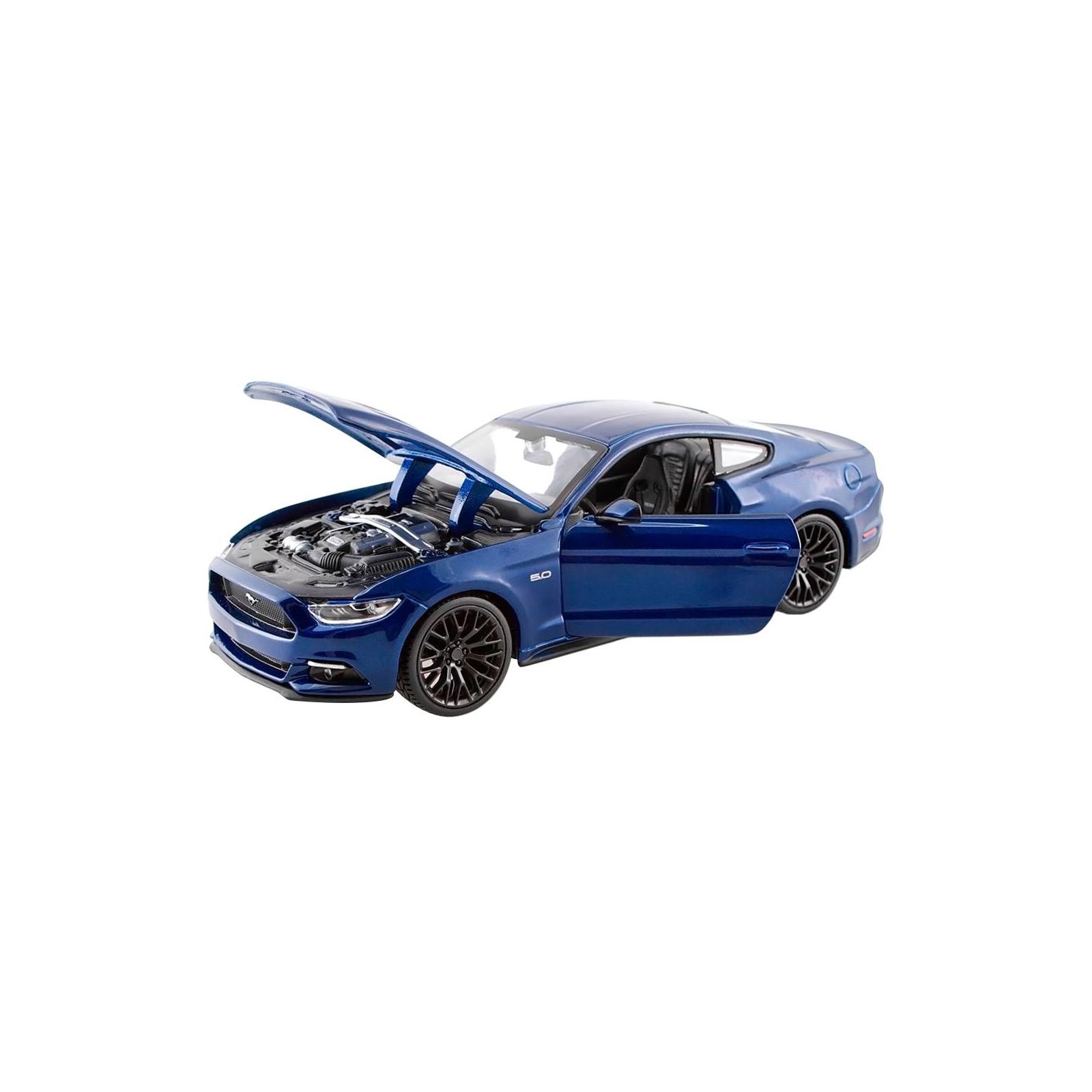 Машина Maisto Ford Mustang GT 2015 (1:24) синий (31508 blue) изображение 2
