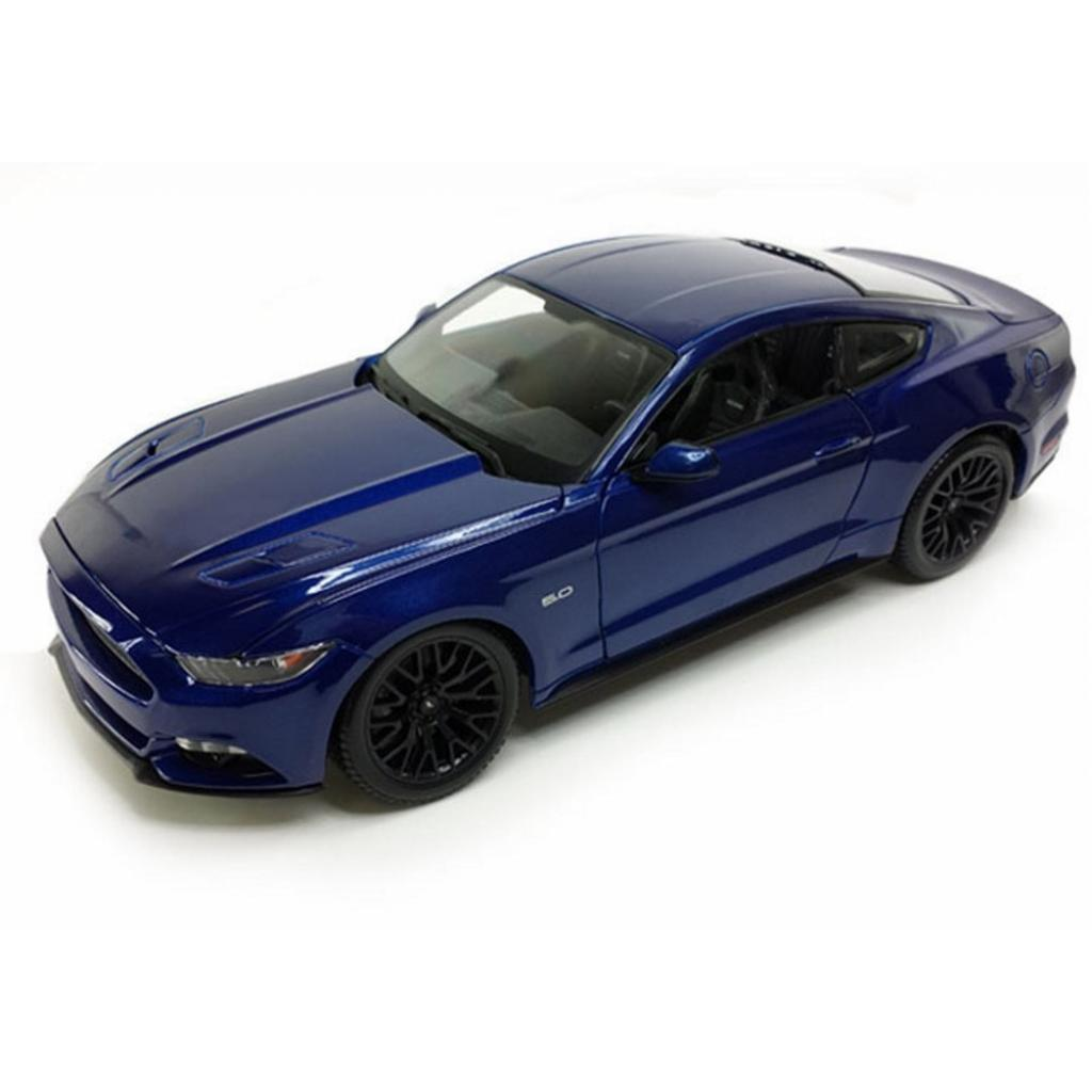 Машина Maisto Ford Mustang GT 2015 (1:24) синий (31508 blue)