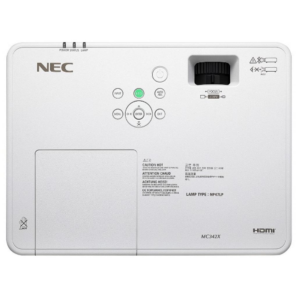 Проектор NEC MC342X (60004705) изображение 6
