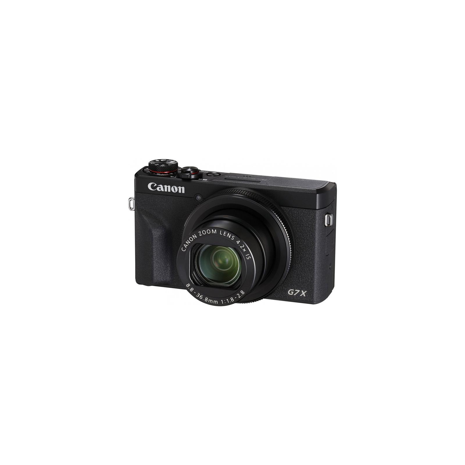Цифровой фотоаппарат Canon Powershot G7 X Mark III Black (3637C013) изображение 3