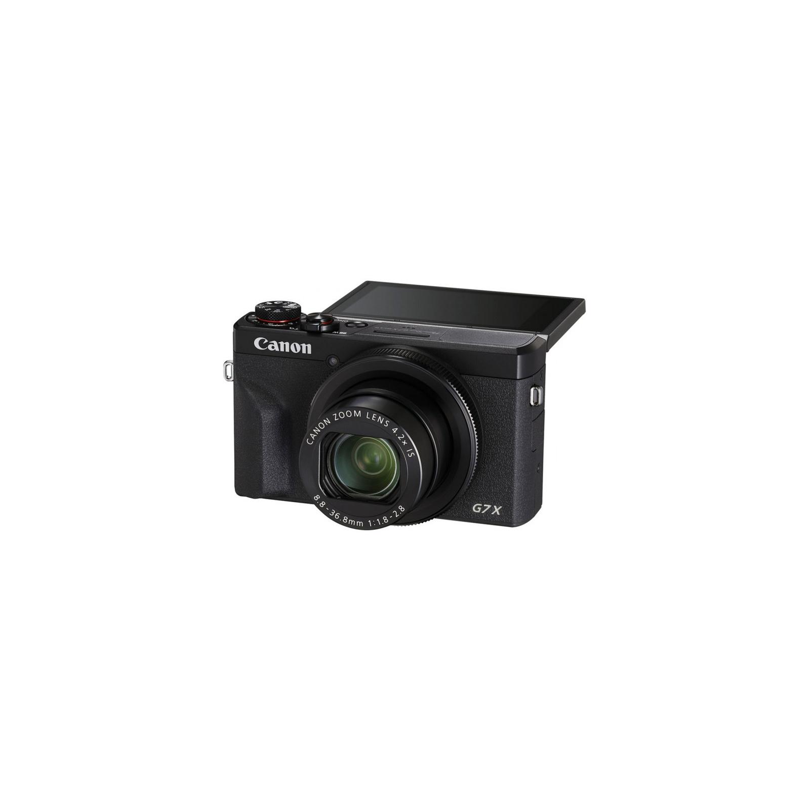Цифровой фотоаппарат Canon Powershot G7 X Mark III Black (3637C013) изображение 5