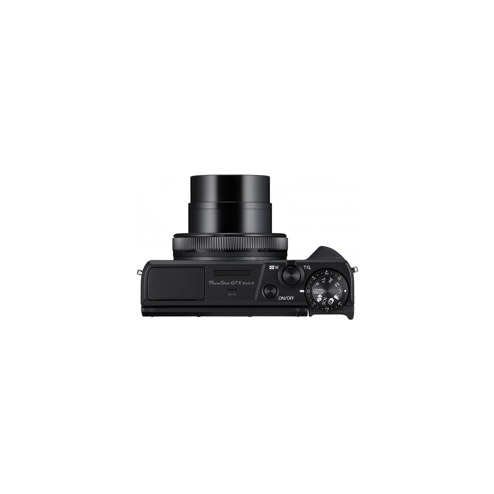 Цифровой фотоаппарат Canon Powershot G7 X Mark III Black (3637C013) изображение 8