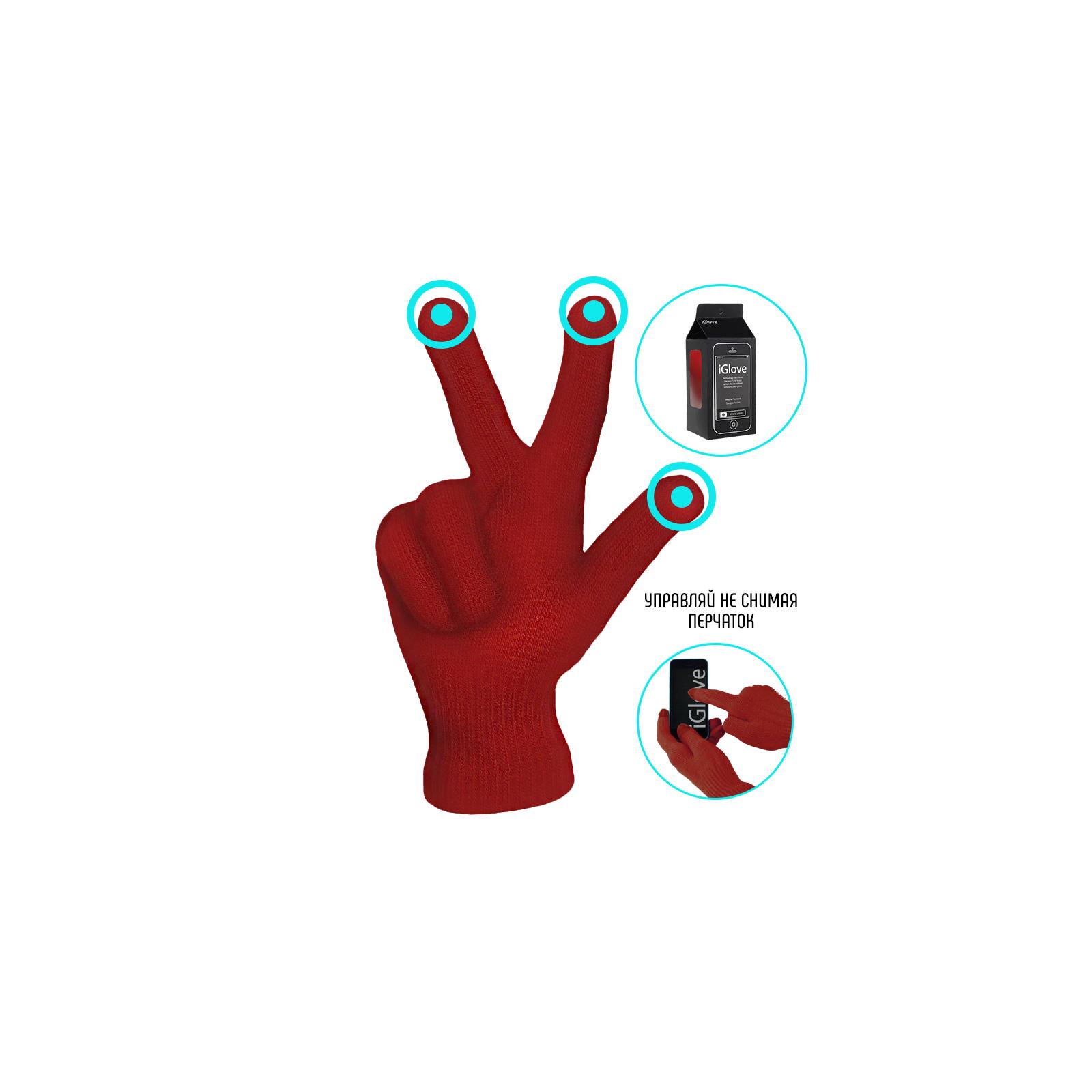 Перчатки для сенсорных экранов iGlove Red (4822356754397) изображение 2