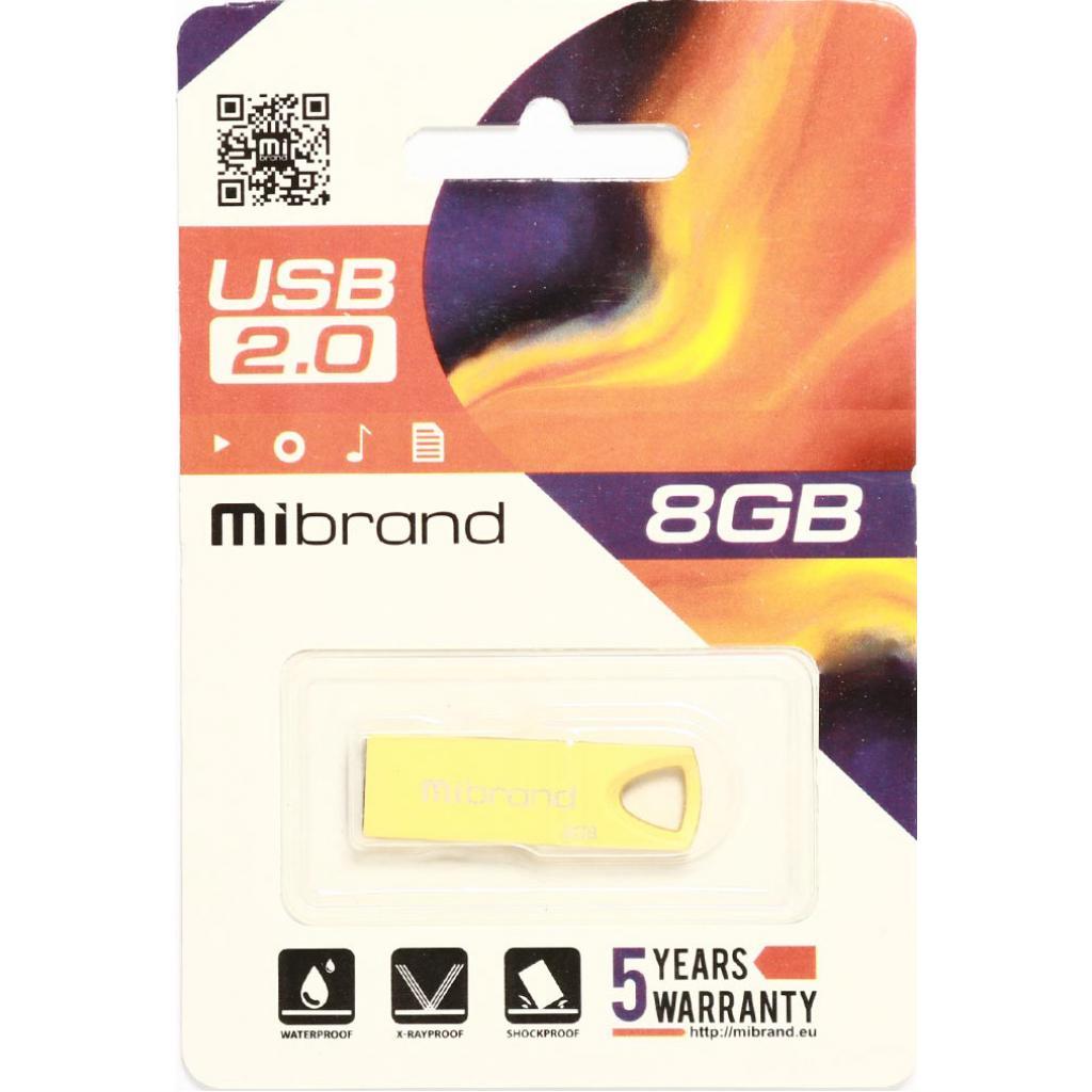 USB флеш накопитель Mibrand 64GB Puma Silver USB 2.0 (MI2.0/PU64U1S) изображение 2