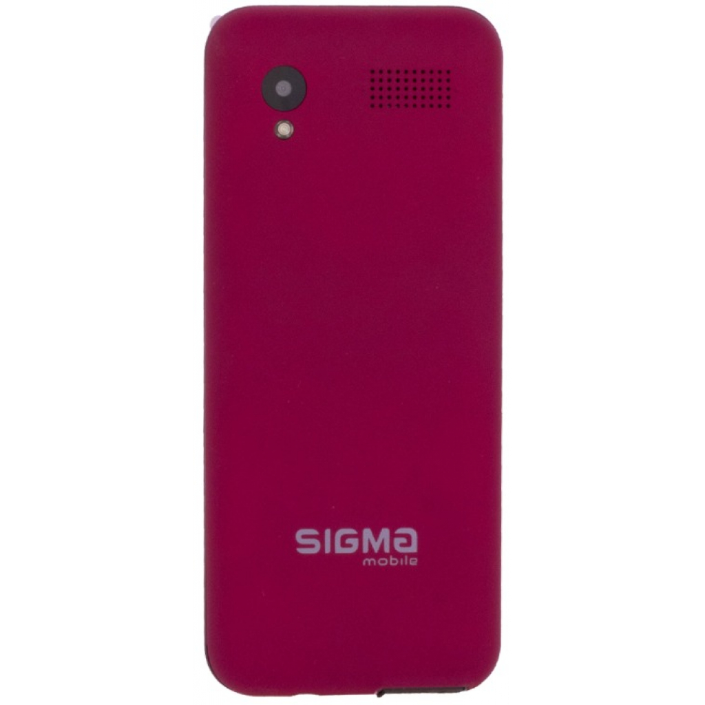 Мобильный телефон Sigma X-style 31 Power Red (4827798854730) изображение 2