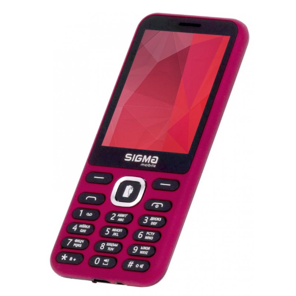 Мобильный телефон Sigma X-style 31 Power Red (4827798854730) изображение 3